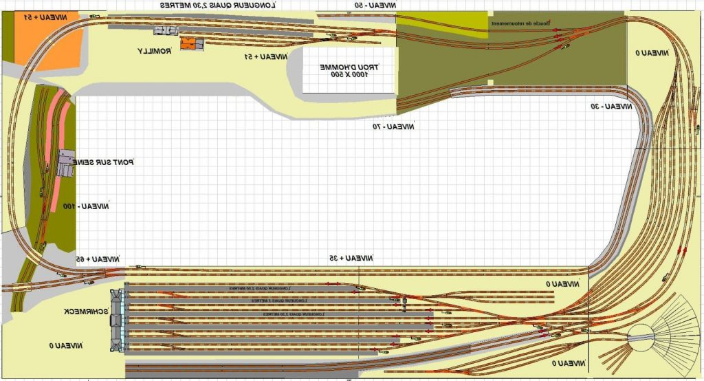 Comparatif Plan Train Miniature Ho