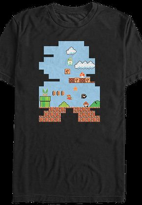 Test T Shirt Super Mario