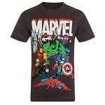 Comparatif t shirt marvel comics