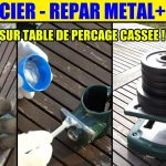 Test colle metal