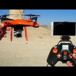 Test quadcopter fpv